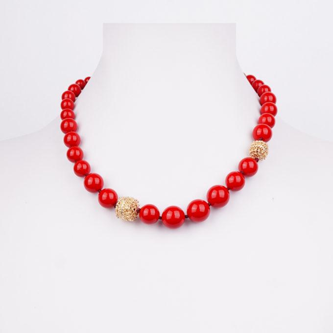 Collier Romancia Rouge pour femme