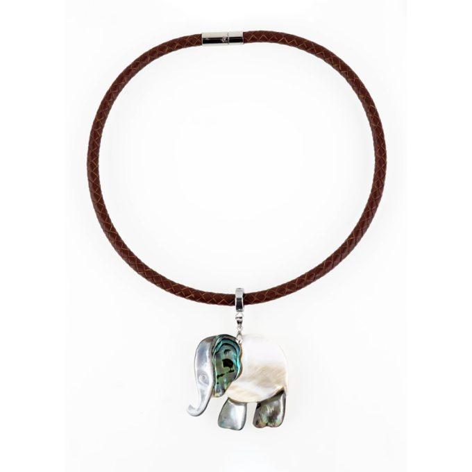 Collier elephant collection Animalia Fashion jewelery