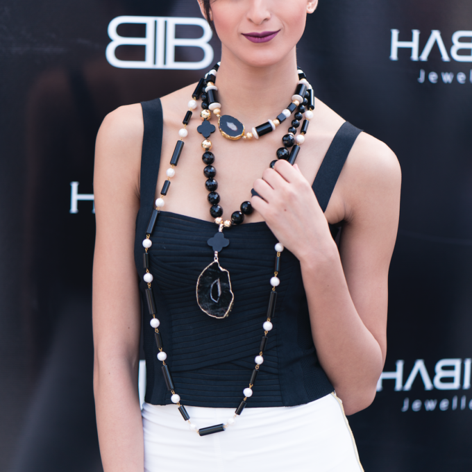 Collier Agate collection de bijoux artisanaux By Habiba Jewelery