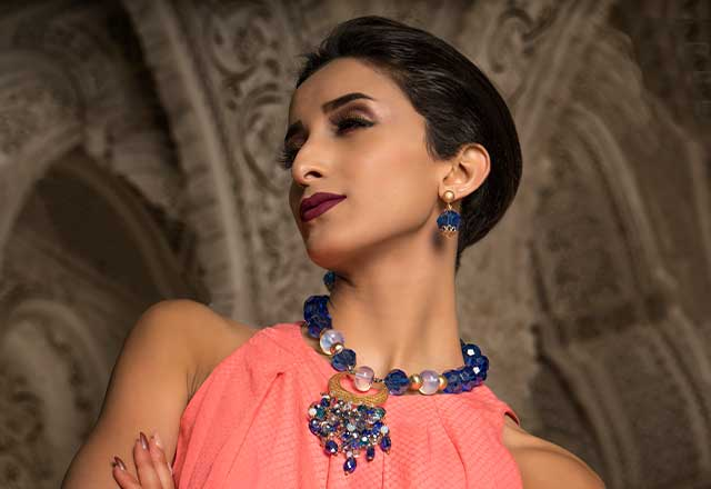 Collier Lunea Chic pour femme Habiba Jewelery