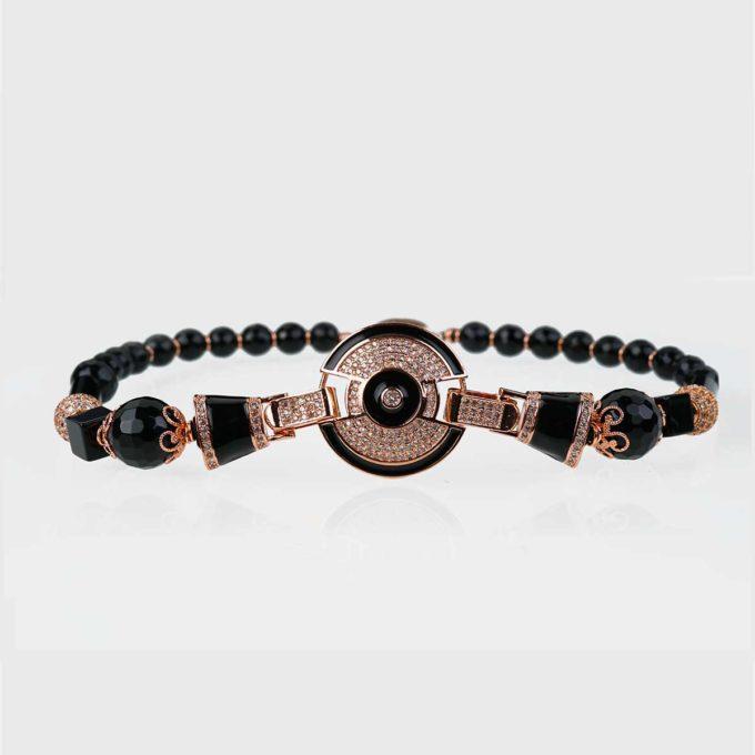 collier yara onyx rose binjoux cadeaux prix
