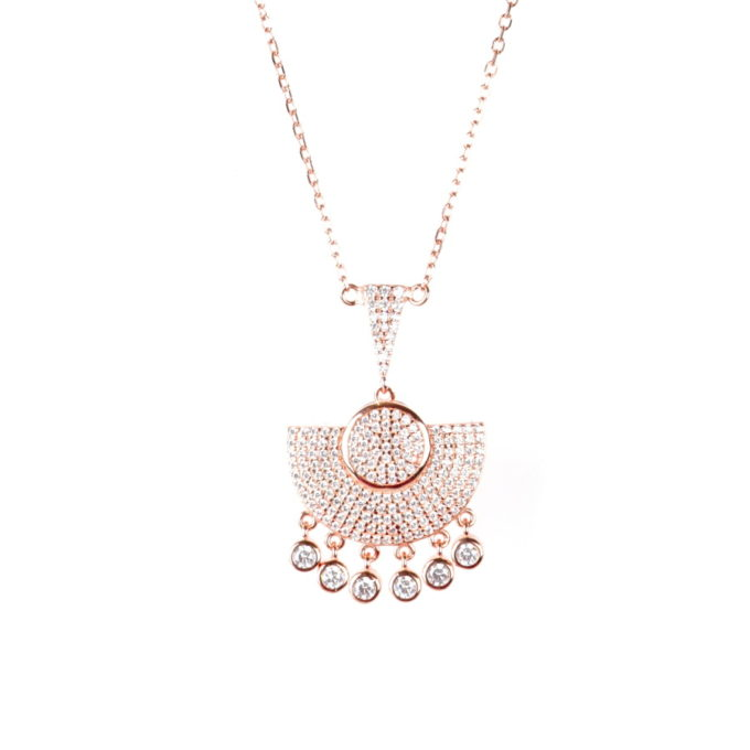 Collier design chic ethnique et artisanale habiba jewelery