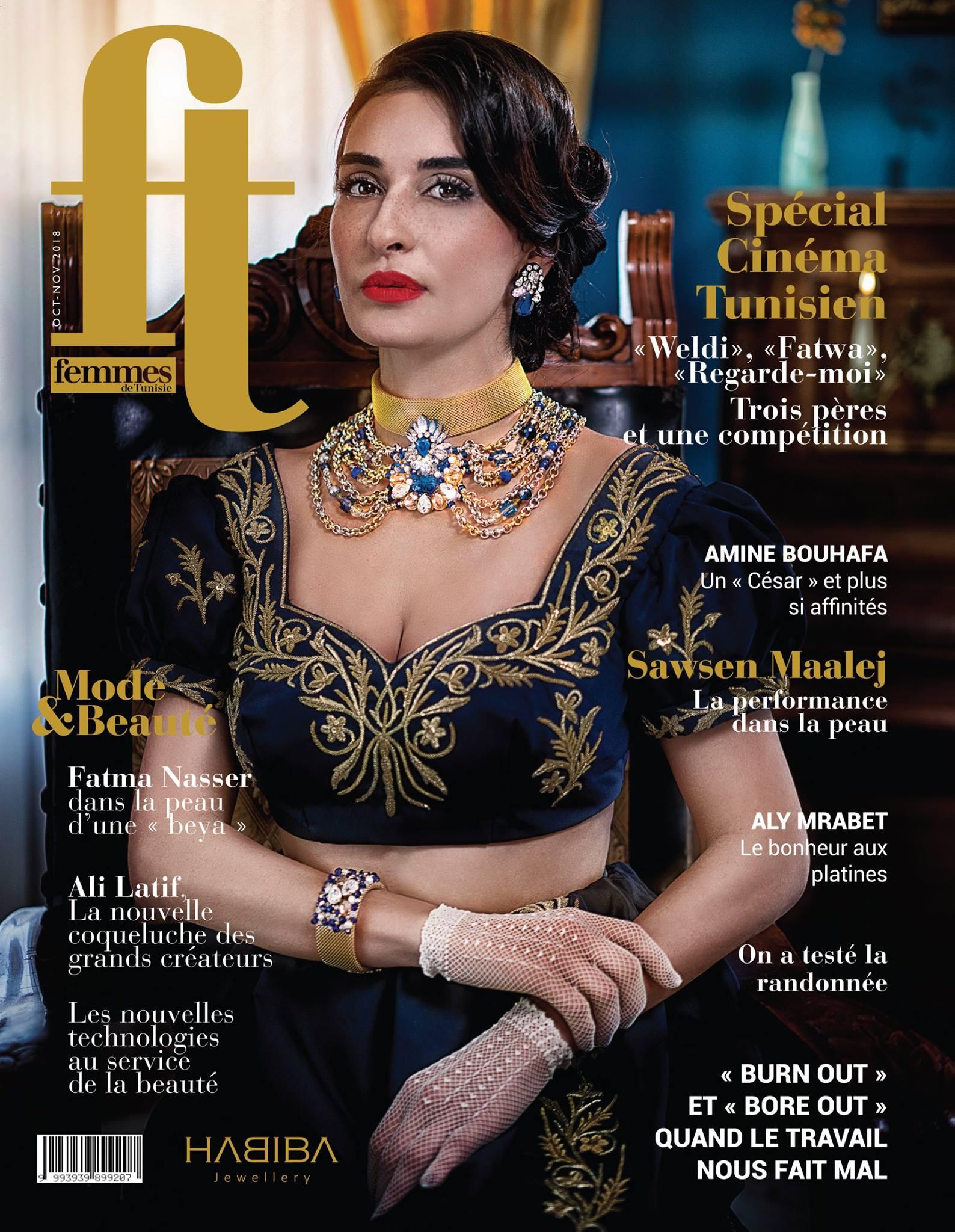 femme-de-tunisie magazine, habiba jewelery