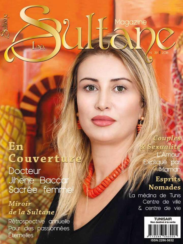 Magazine Sultana , Bijoux collection coralia Habiba Jewelery