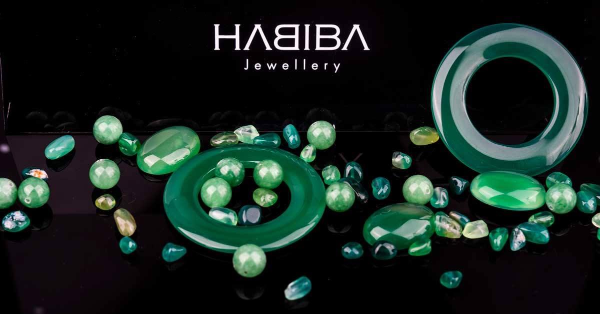 Bijoux artisanaux by Habiba Jewelery couleur vert