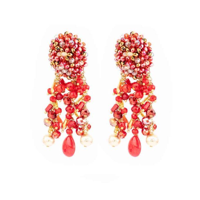boucles-d'oreilles-sofia-meilleurs-cadeau-pour-femme-rouge
